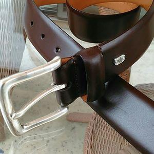 🤑⬇️🚺Lauren, Ralph Lauren brown leather belt